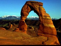 Stock Footage Picture from Arches National Park